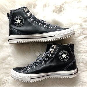 Converse Sherpa Lined High Tops